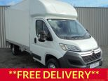 CITROEN RELAY 2.0 HDI 130 EURO 6 LWB 3500 KG FULL CLOSURE LUTON WITH TAIL LIFT ** 68 REG ** - 1175 - 1