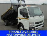 MITSUBISHI CANTER 3.0 7C15 34 AUTO ** INSULATED TIPPER ** THOMPSON BODY ** TAR CHUTES ** LOW KMs - 1536 - 1
