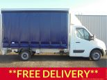 RENAULT MASTER 2.3DCI BUSINESS LL35 130 EURO 6 ** 4.1M CURTAINSIDE ** BRAND NEW ** IN STOCK ** READY TO ROLL  - 1551 - 1