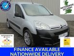 CITROEN BERLINGO 1.6HDI 625 ENTERPRISE L1 BLUEHDI ** AIR CON ** PARKING SENSORS ** METALLIC SILVER - 1579 - 1